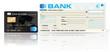 carte bleue / VISA et chèque de banque
