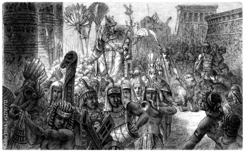 Pharaoh : Triumph Procession - Ancient Egypt
