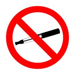 interdit de vapoter