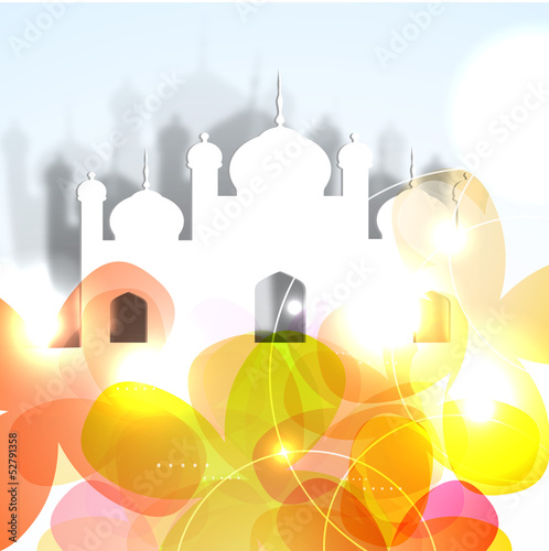 Ramadan Mubarak background.