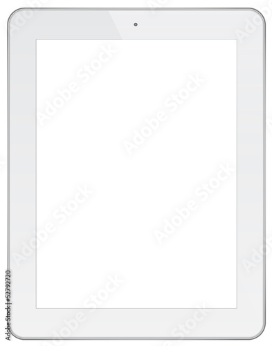 White Business Tablet - 52792720