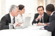 Leinwandbild Motiv Business People In Meeting