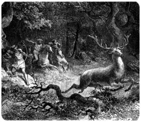 Barbarians : Hunting a Deer