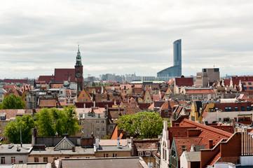 Wrocław widok z góry