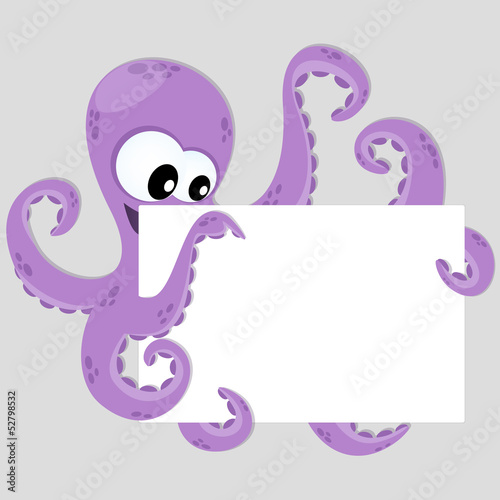 Octopus - Polpo - Place Your Text
