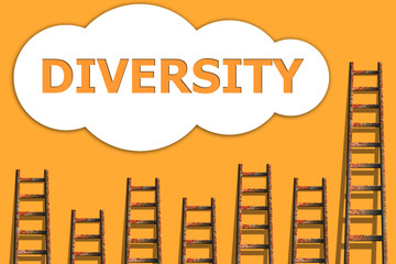 Diversity,wordding about success of business