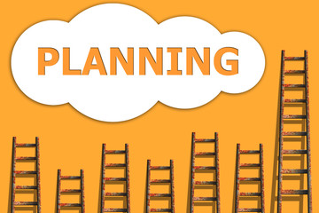 Planning,wordding about success of business