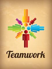 teamwork vintage