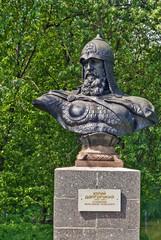 Bust to Yuri Dolgorukiy