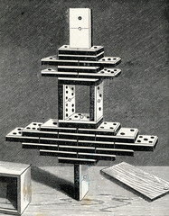 Equilibrium - construction from domino pieces