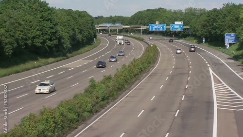 Autobahn Video / Motorway Video Clip