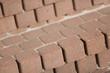 Treppe aus Pflastersteinen