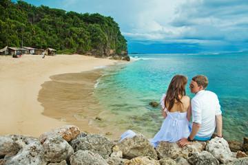 wedding on the exotic island