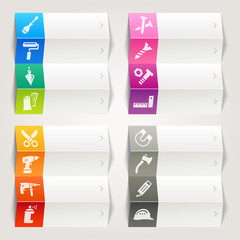 Rainbow - Tools and Construction icons
