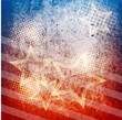 Patriotic grunge background