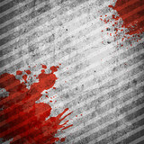 Grunge background with blood spot