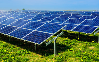 Solarkraftwerk mit Photovoltaik