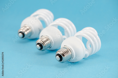 three novel economic fluorescent light bulb