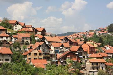 Stadt Užice in Serbien