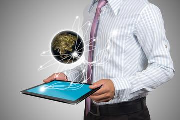 Global network.