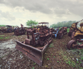 farmyard scrap metal