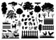 Farm silhouettes - 52809179