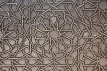 Détail de la mosquée Hassan II de Casablanca