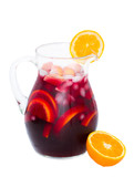 jar of sangria wine