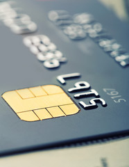 Credit card micro chip