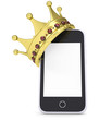 Crown on the smartphone