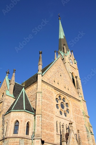 Stockholm landmark - Oscar's Church