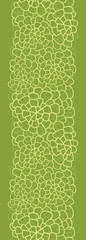 Vector abstract green natural texture vertical seamless pattern