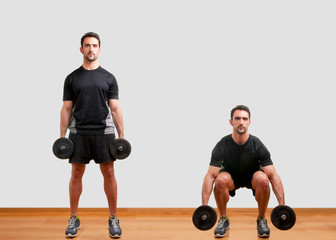 Dumbbell Squat