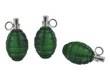 Three models of grenade