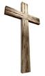 Obrazy na płótnie, fototapety, zdjęcia, fotoobrazy drukowane : Wooden Crucifix