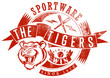 Постер, плакат: The Tigers sportswear