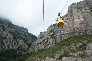 Teleférico de Montserrat, Cataluña, España