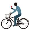 道交法違反 電話しながらの自転車走行
