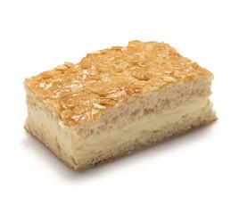 Topfenkuchen-Bienenstich