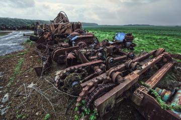 agricultural scrap