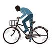 暴走する自転車