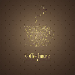 Restaurant or coffee house menu design. Vector.
