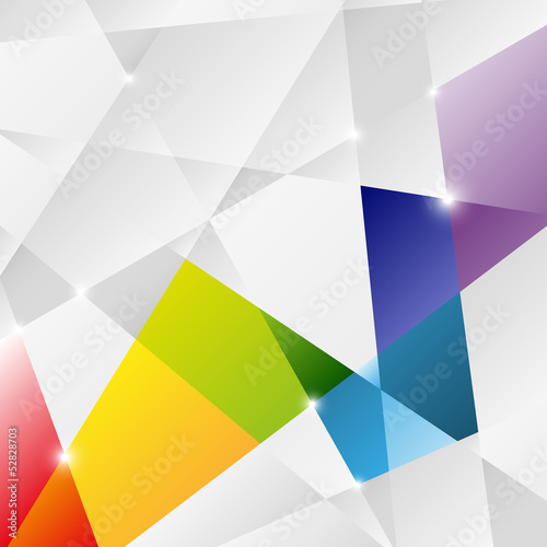Triangle background for Your design