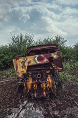 rusted old wreck
