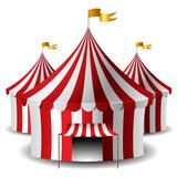 Fototapety Circus tent