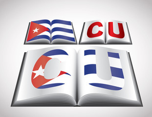 National Flag concept of Cuba