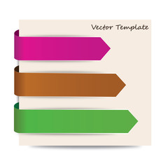 Pfeil Vektor Template 02