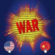 Cyberwar between USA and  China