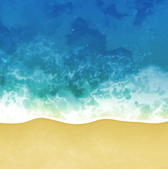 sea beach vector background