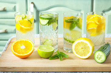 Vitamin-fortified water